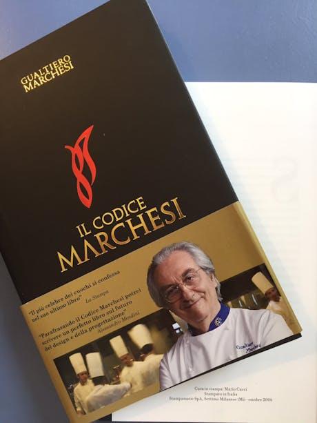 """Gualtiero Marchesi - """"Il Codice Marchesi"""""""