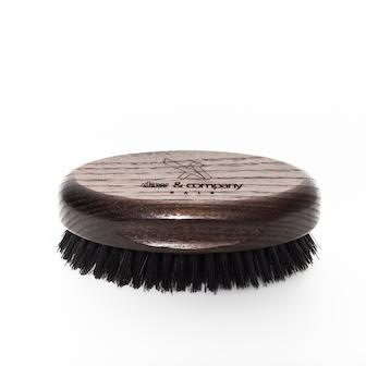 Spazzola ovale in legno barba e baffi in legno Daw