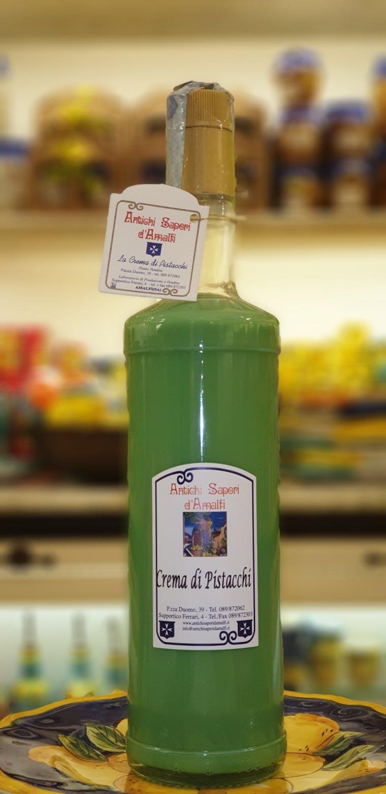 pistacchiello liquor - pistachio liquor