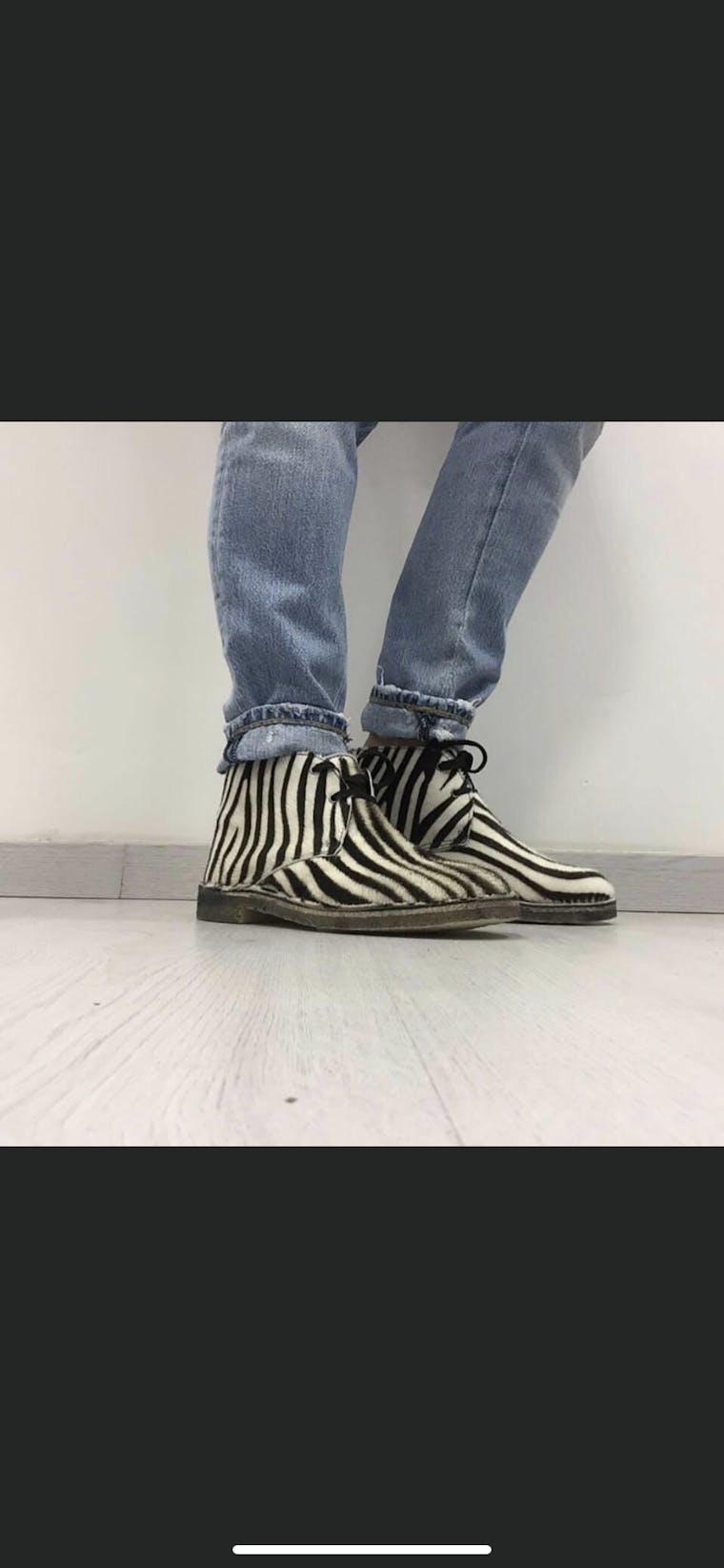 polacchine cavallino zebrato