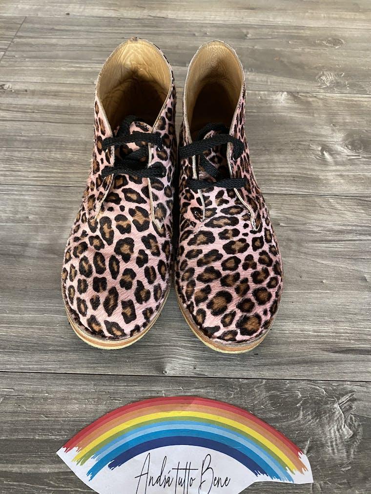 polacchine in cavallino ghepardino rosa