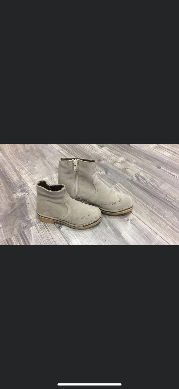 scarpa  in camoscio stucco