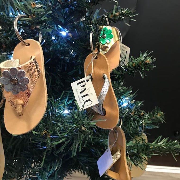 portachiavi sandaletti