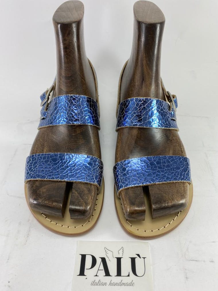 sandalo positano in pelle