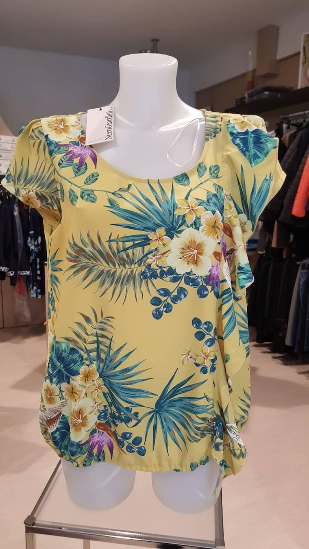 T-shirt Giallo Flor