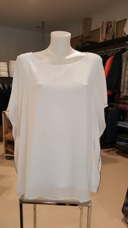 T-shirt Bianco Voil