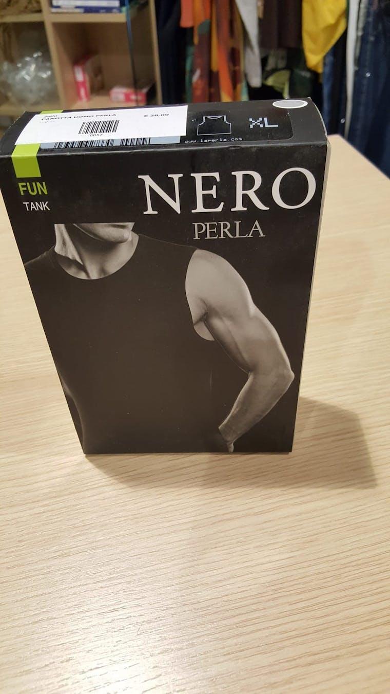 Canotta Nero Perla
