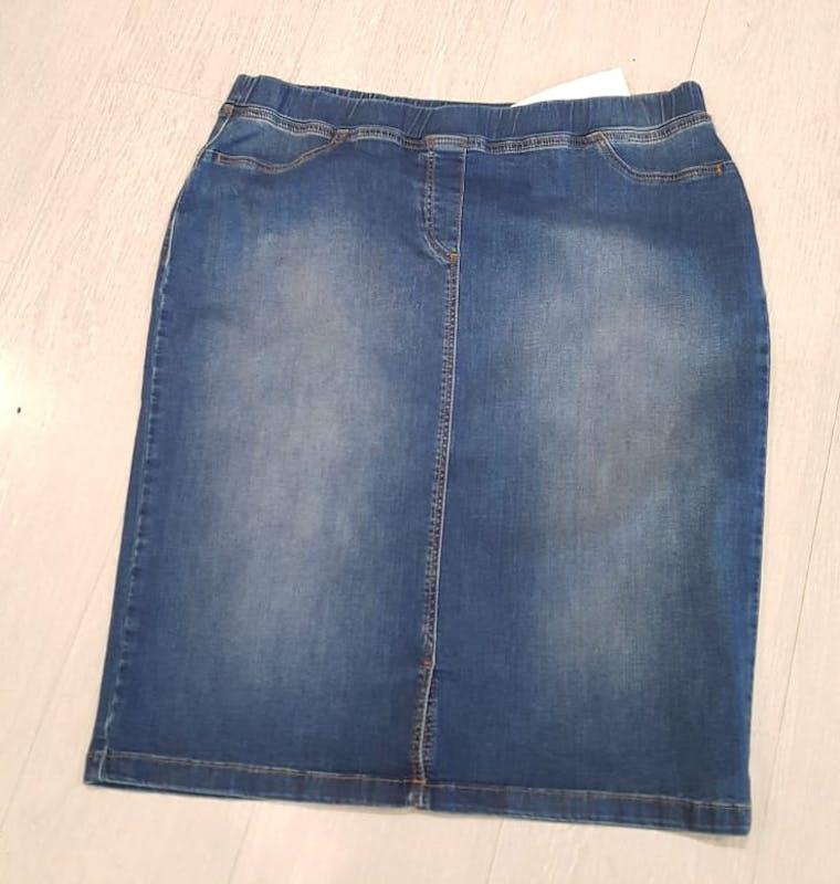 Gonna Jeans Calibrata