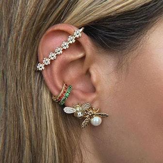 Aurelia Bee Pearl Earrings