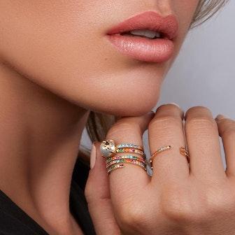 Albertine Rainbow Ring