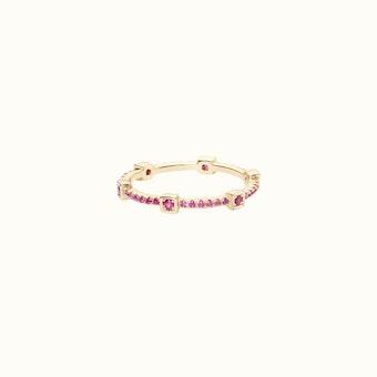 Amelia Ring   Pink