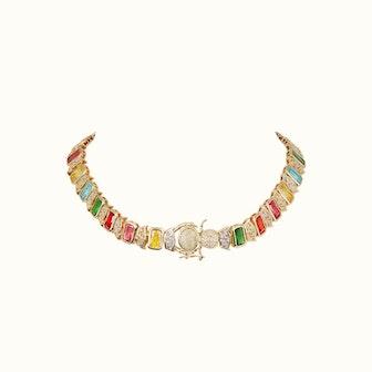Elizabeth Caterpillar Necklace