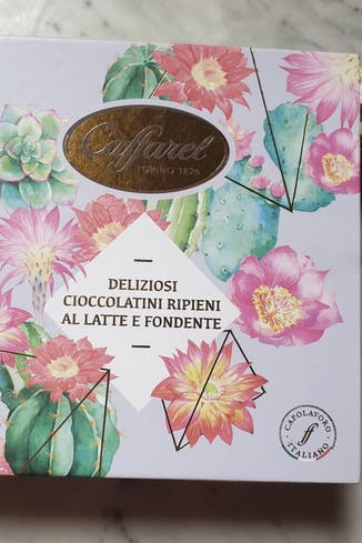 Scatola cioccolatini ripieni assortiti