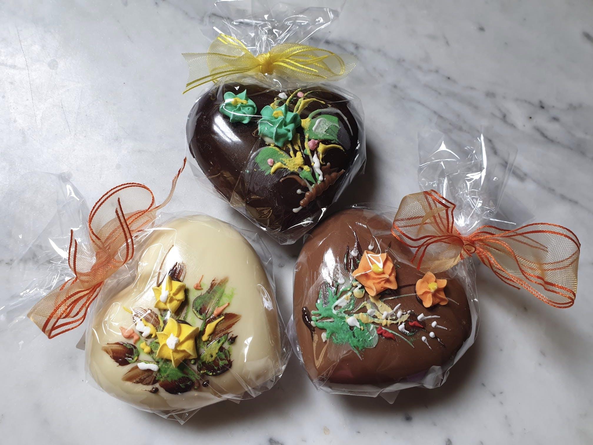 Cuore in cioccolato