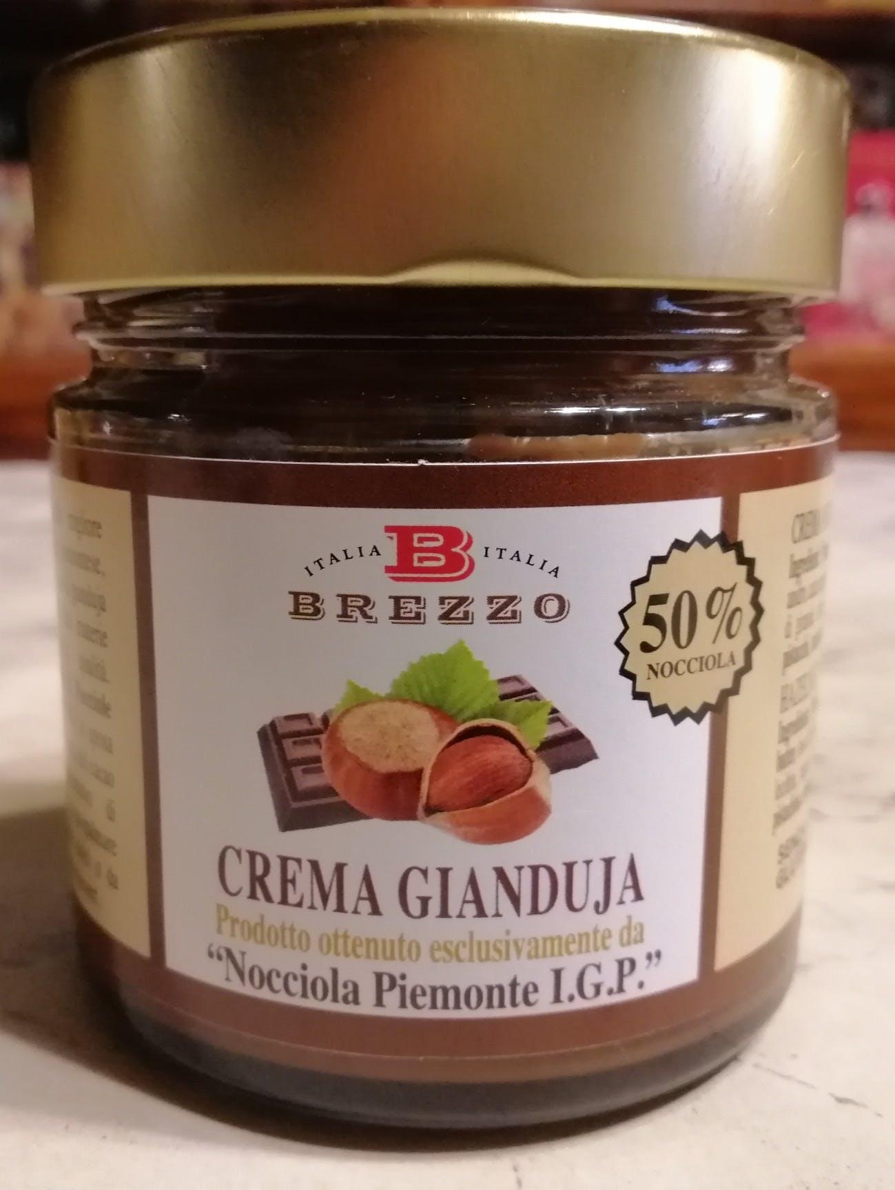 Brezzo, Crema Gianduia 50%