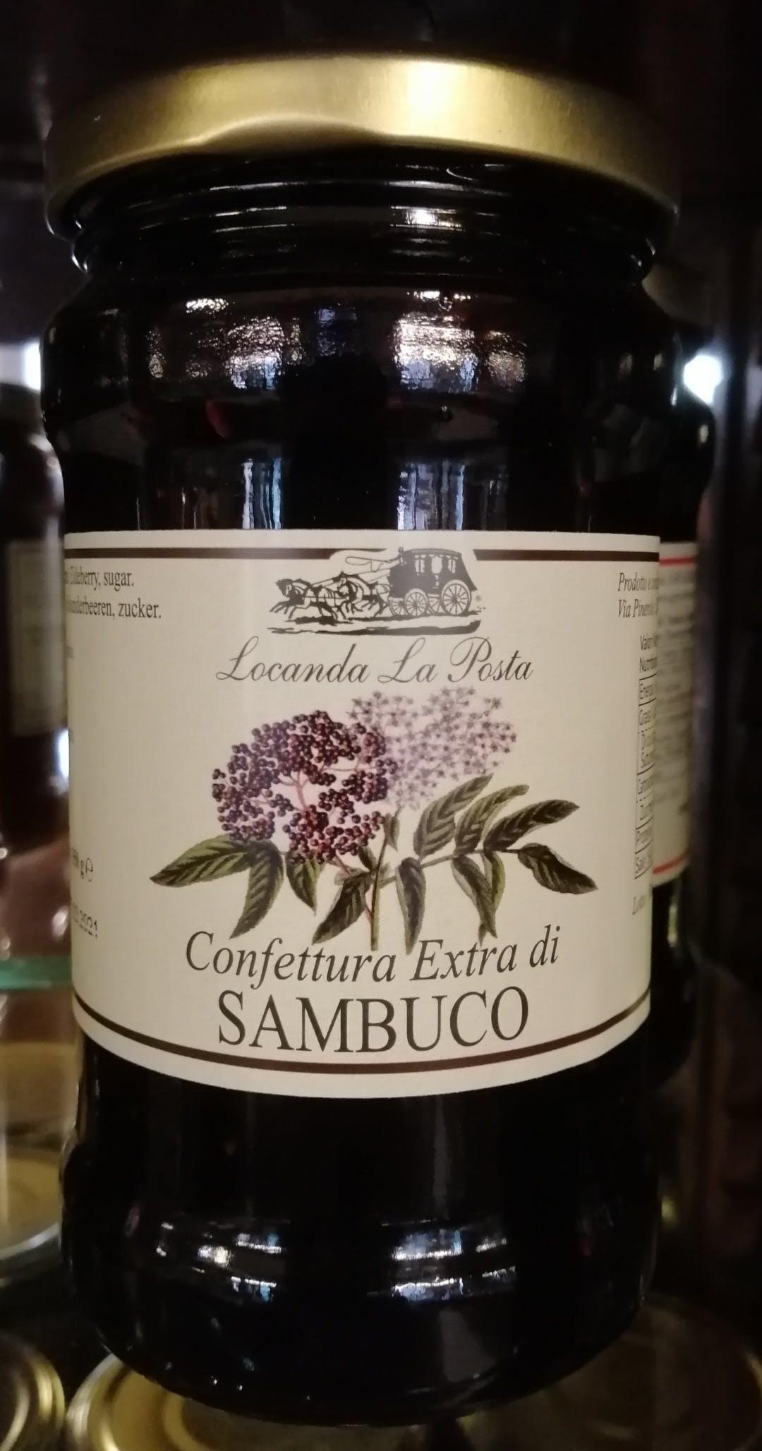 Sambuco, Confettura extra
