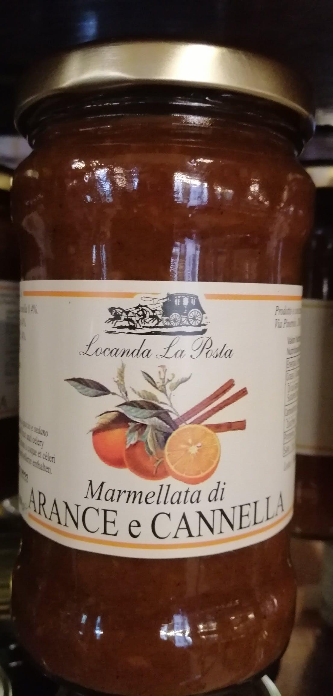 Arance e Cannella, Marmellata