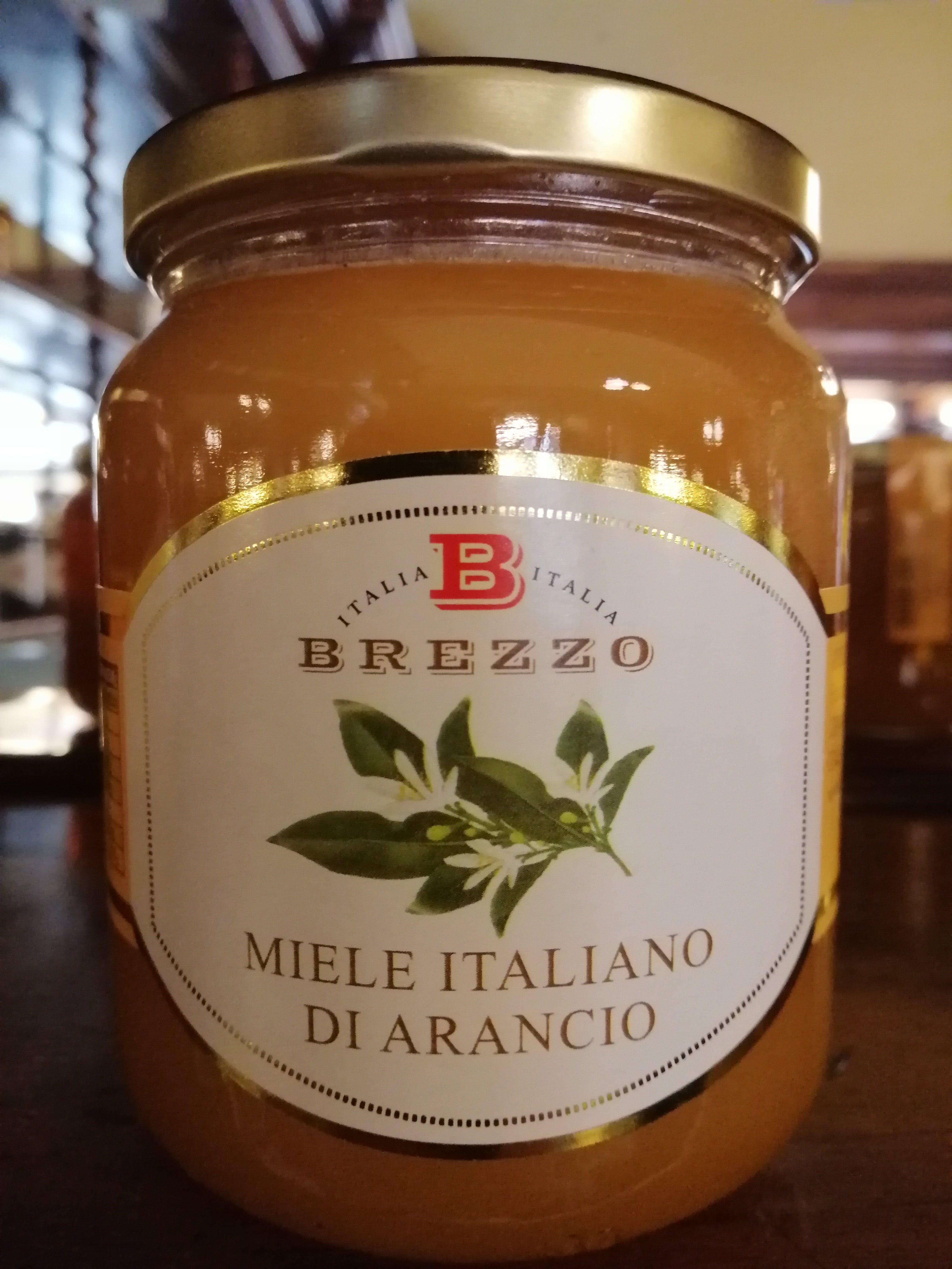 Miele di Arancio, italiano