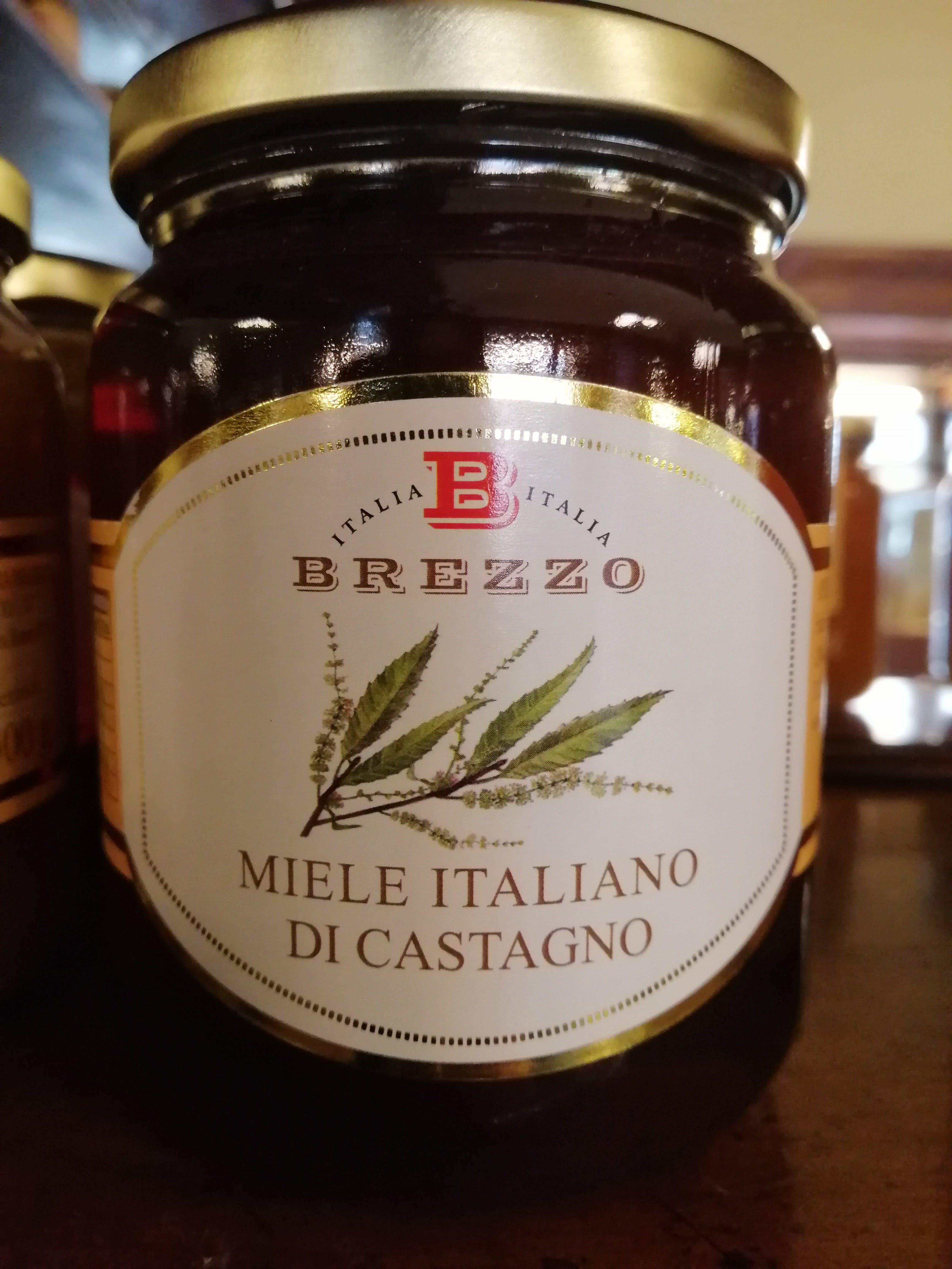 Miele di Castagno, italiano