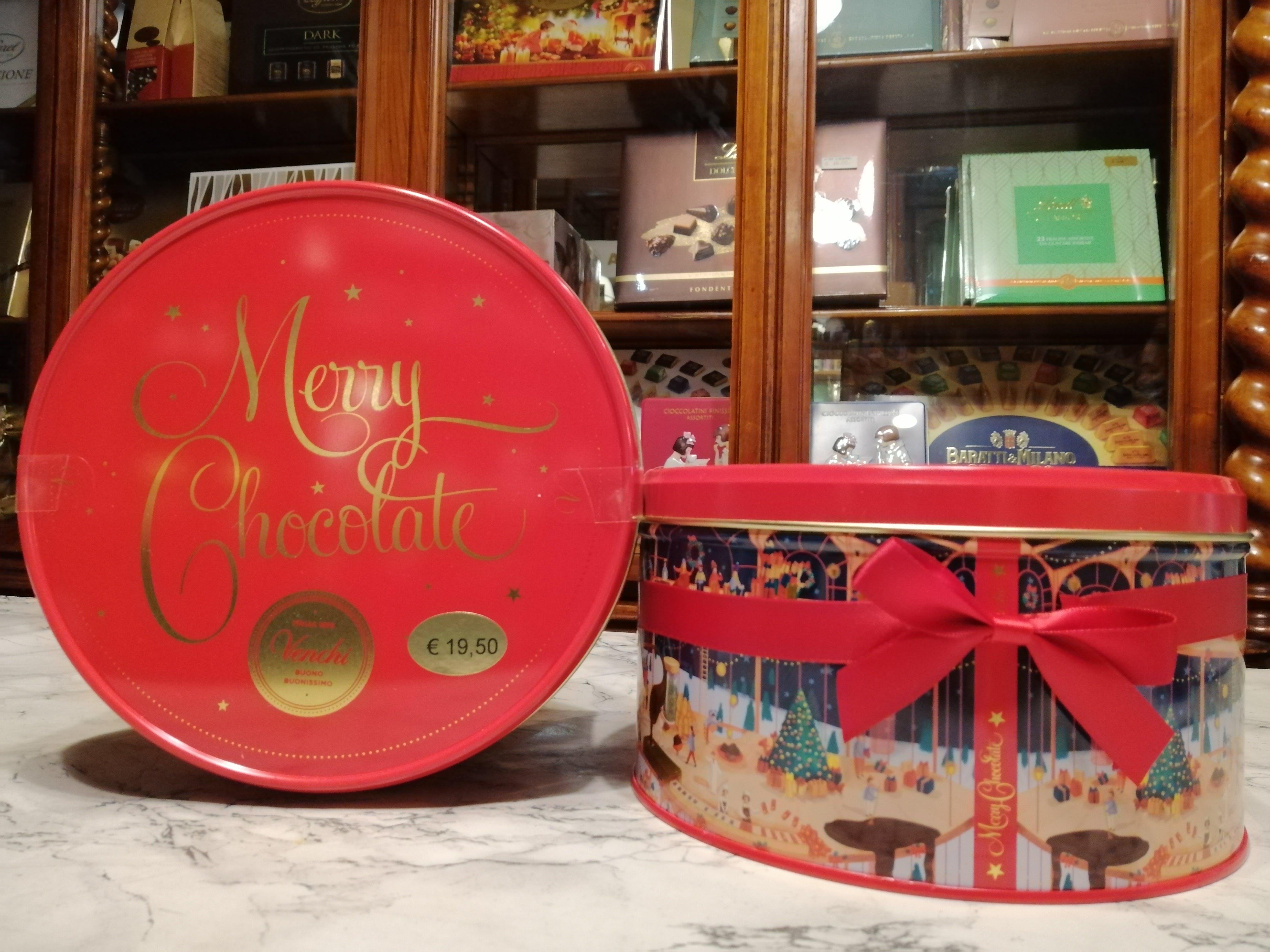 Venchi, Latta Merry Chocolate