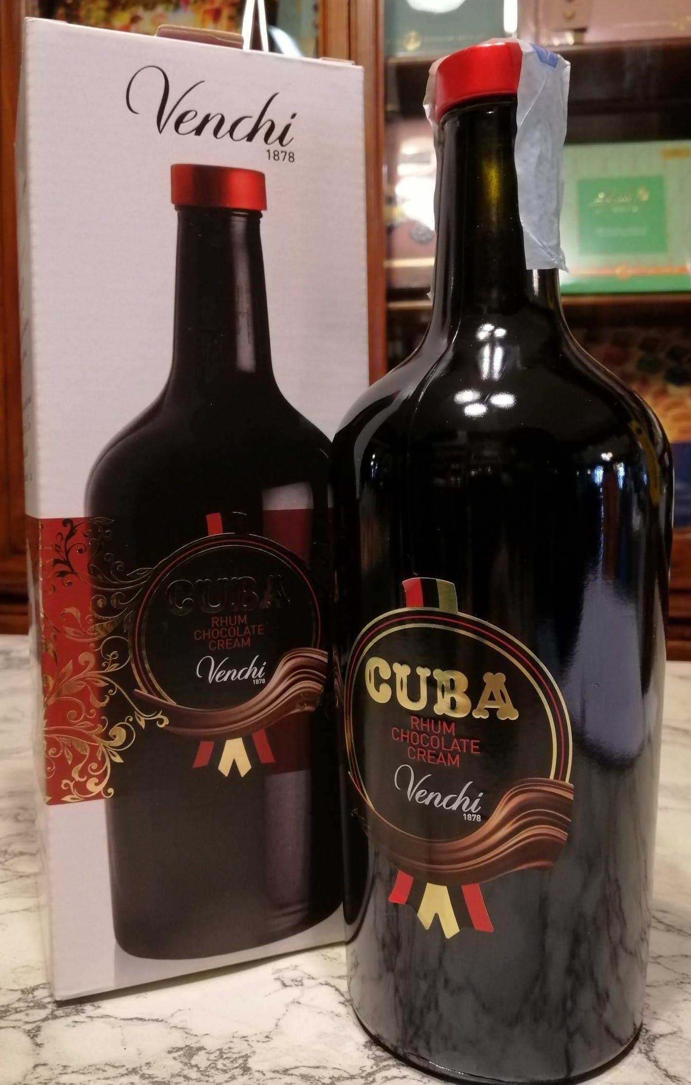 Liquore Cioccolata e Rhum