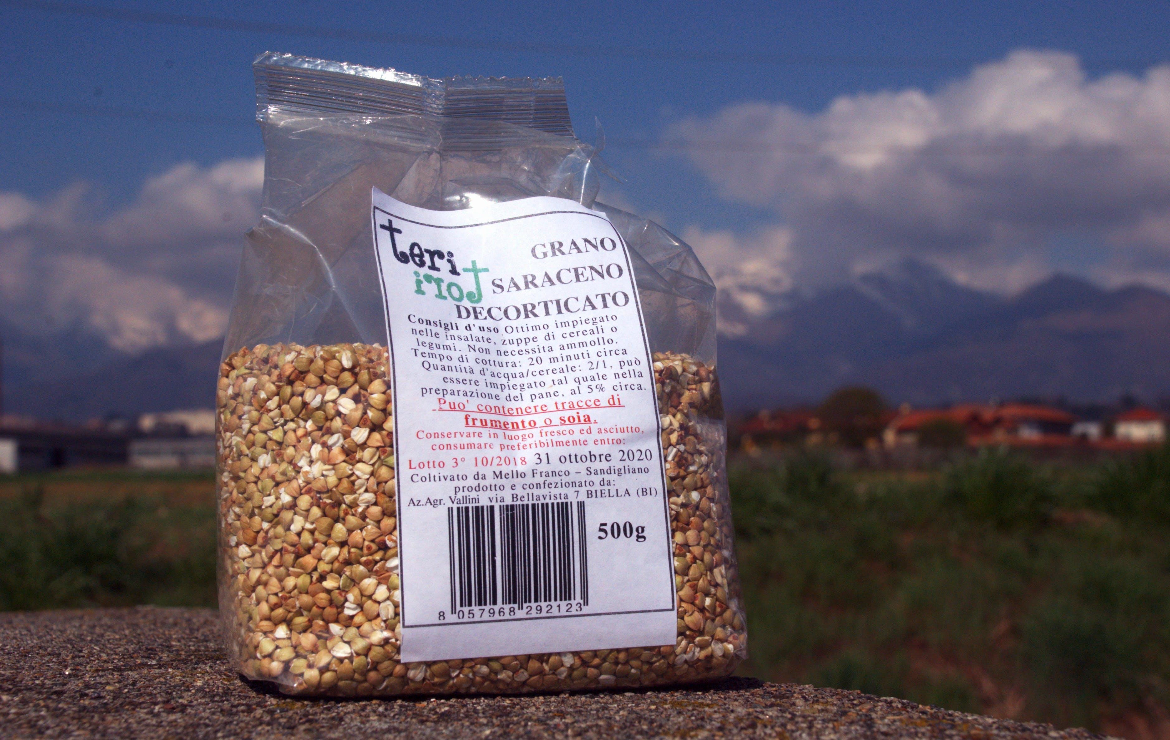 Chicchi di grano Saraceno decorticato
