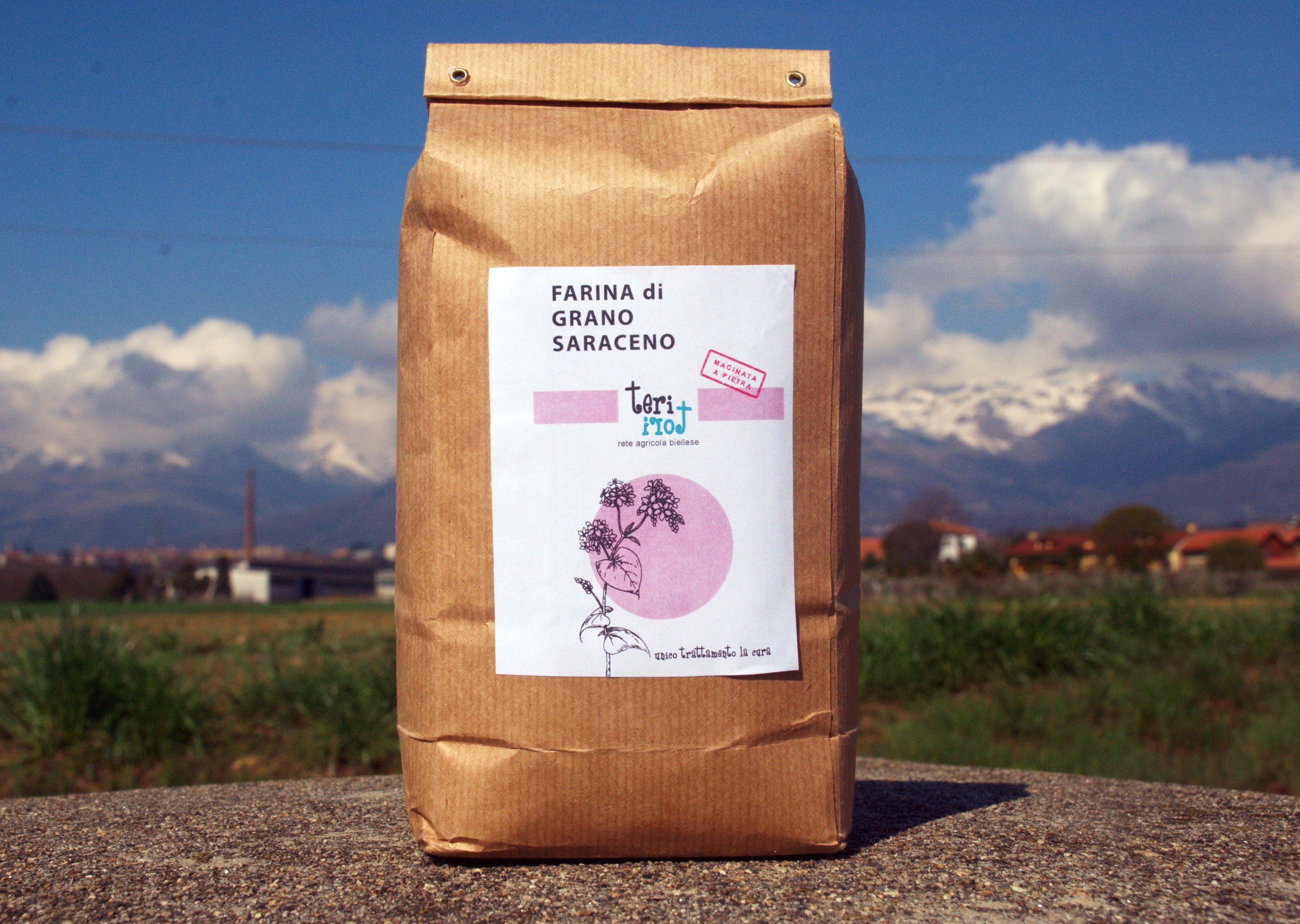 Farina semintegrale di grano Saraceno 1KG