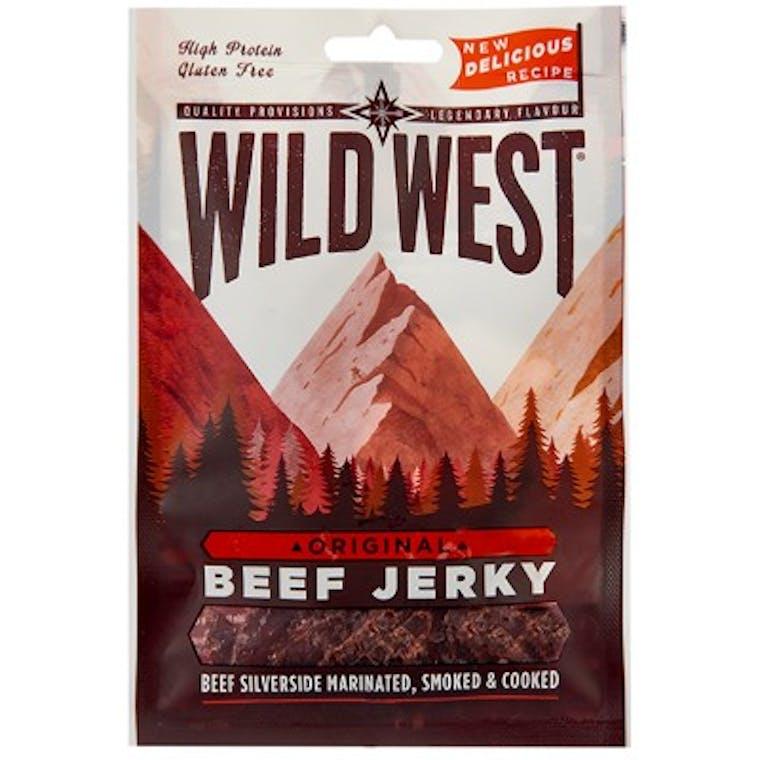 WILD WEST BEEF JERKY ORIGINAL - CARNE DI MANZO ESSICCATA