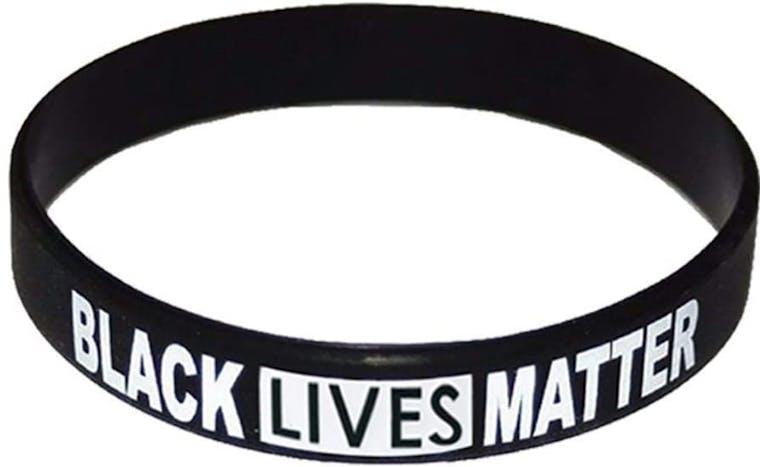 BLACK LIVES MATTER - BRACCIALE IN SILICONE