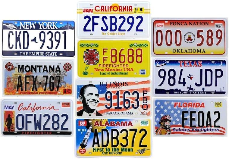 TARGA AUTOMOBILISTICA USA