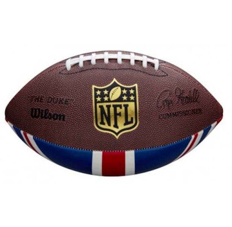 WILSON PALLA DA FOOTBALL AMERICANO - NFL DUKE REPLICA UNION JACK