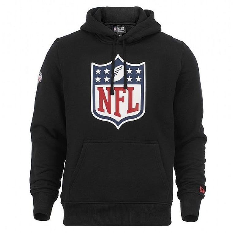 NEW ERA - NFL - FELPA CON CAPPUCCIO - LOGO NFL N