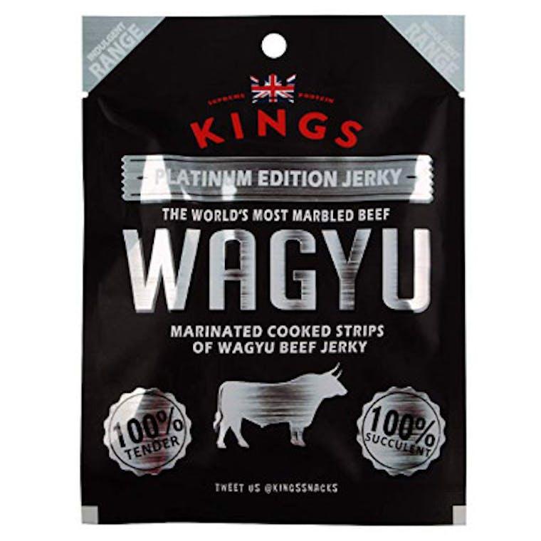 KINGS WAGYU BEEF JERKY - CARNE DI MANZO WAGYU ESSICCATA