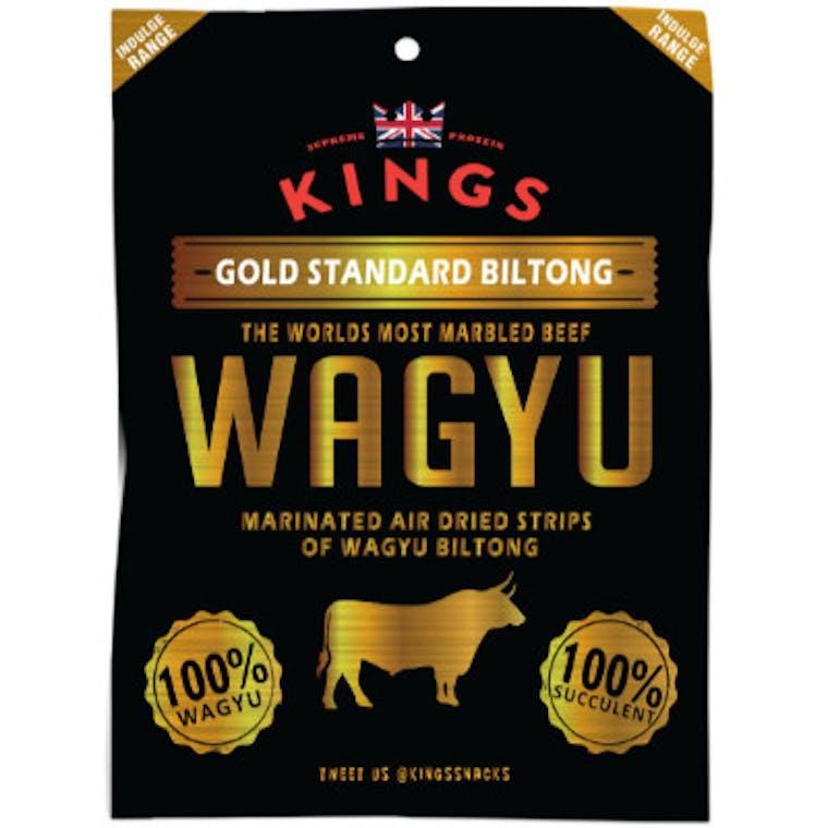 KINGS WAGYU BEEF BILTONG - CARNE DI MANZO WAGYU ESSICCATA