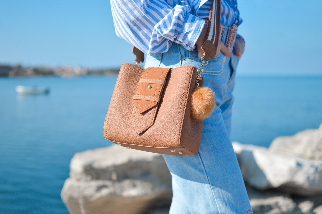 orangy purse