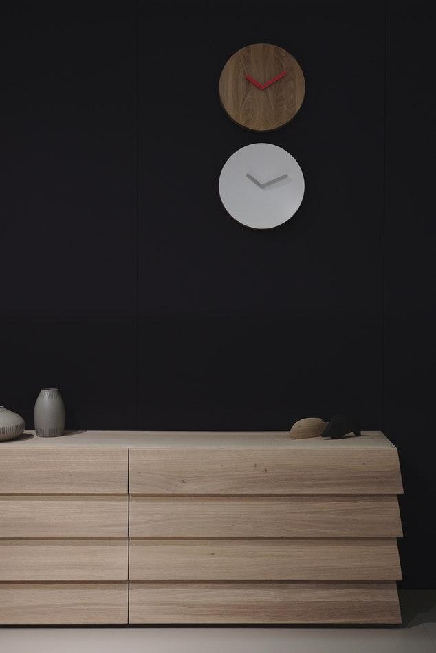 Modern wood drawer